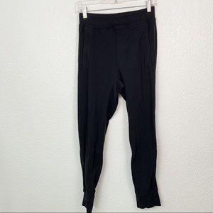 Lululemon Black Sweatpant Joggers Small